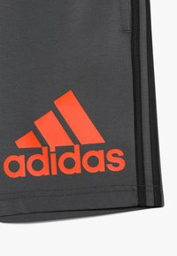 adidas Performance - Sports shorts - grey six/active orange - 2