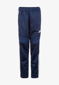 adidas Performance - TIRO 19 POLYESTER TRACKSUIT BOTTOMS - Joggebukse - dark blue/white - 0