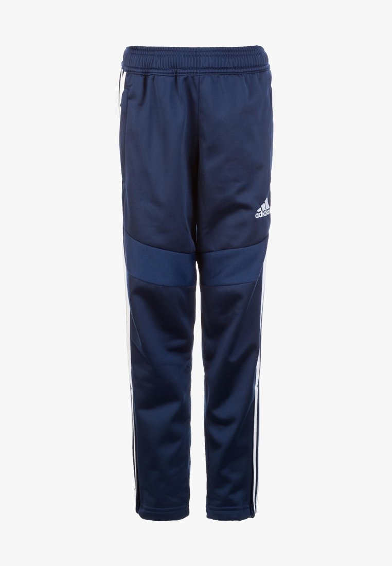 adidas Performance - TIRO 19 POLYESTER TRACKSUIT BOTTOMS - Joggebukse - dark blue/white