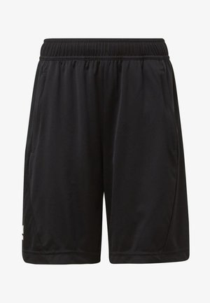 TRAINING EQUIPMENT SHORTS - Korte broeken - black/white
