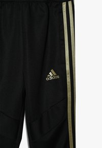 adidas Performance - REAL MADRID - Klubové oblečení - black/dark gold - 4