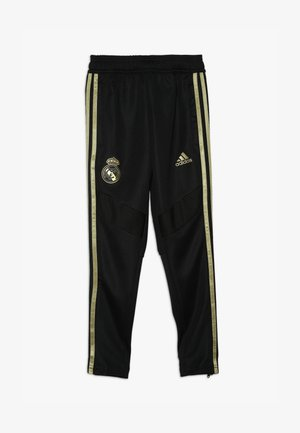 REAL MADRID - Klubbklær - black/dark gold