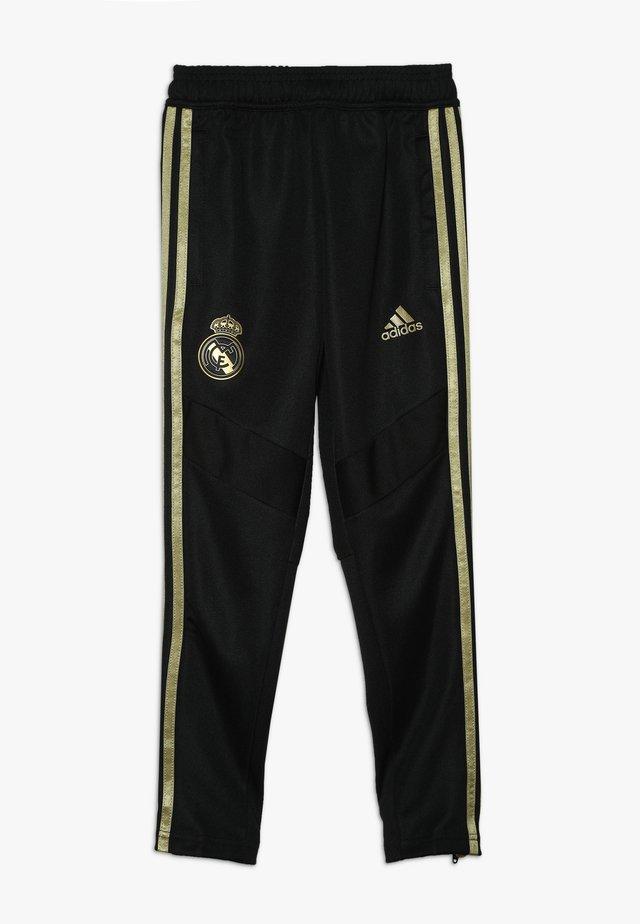 REAL MADRID - Klubové oblečení - black/dark gold