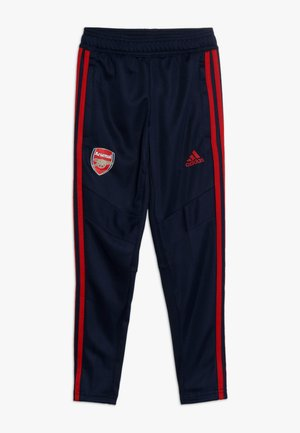 AFC  - Tracksuit bottoms - navy/scarlet