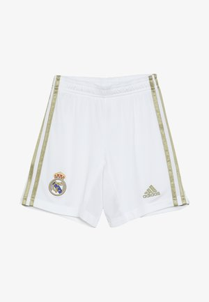 REAL HOME - Sports shorts - white