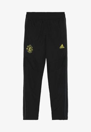 MUFC - Pantalon de survêtement - black/solar grey