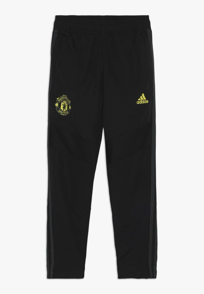 adidas Performance - MUFC - Jogginghose - black/solar grey