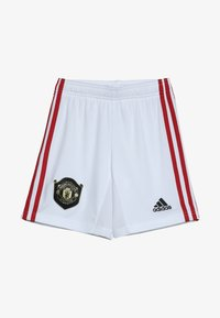 adidas Performance - MANCHESTER UNITED FC HOME - Sports shorts - white - 3
