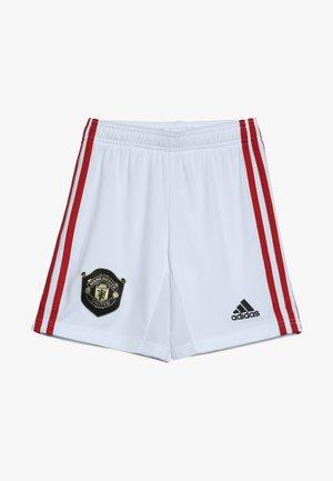 MANCHESTER UNITED FC HOME - Sports shorts - white