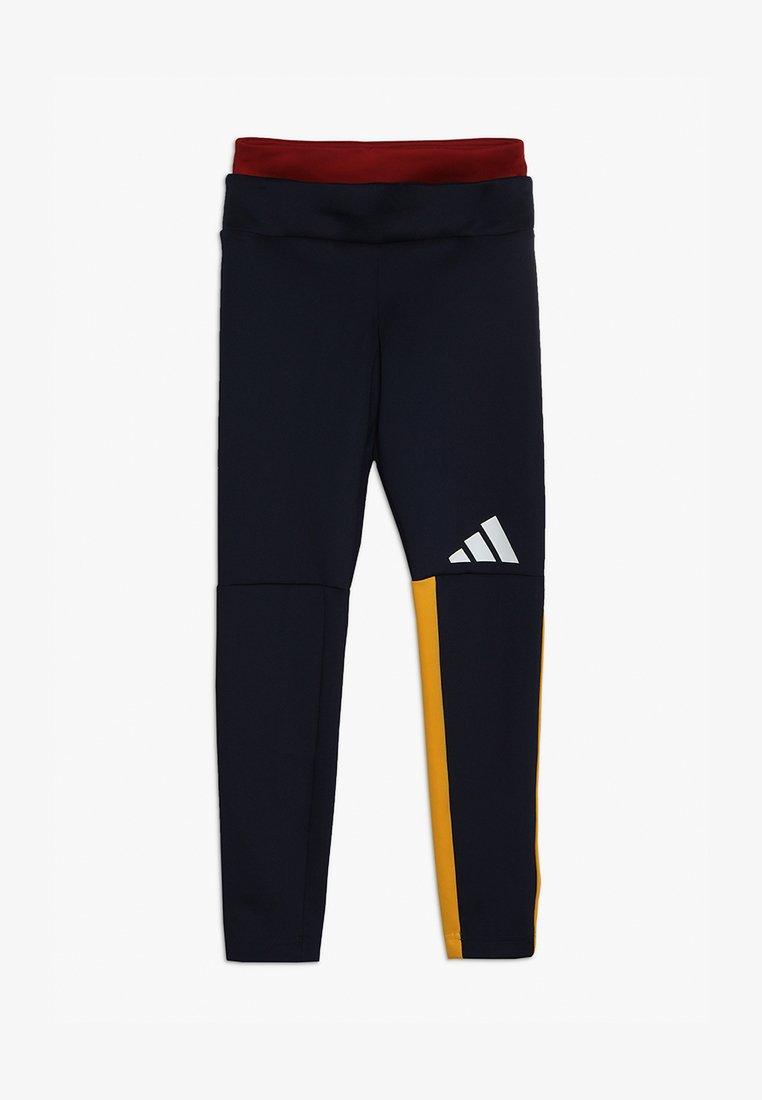 adidas Performance - TIGHT - Leggings - dark blue/yellow