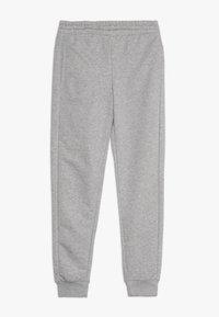 adidas Performance - LIN PANT - Pantalones deportivos - medium grey heather/real pink - 0
