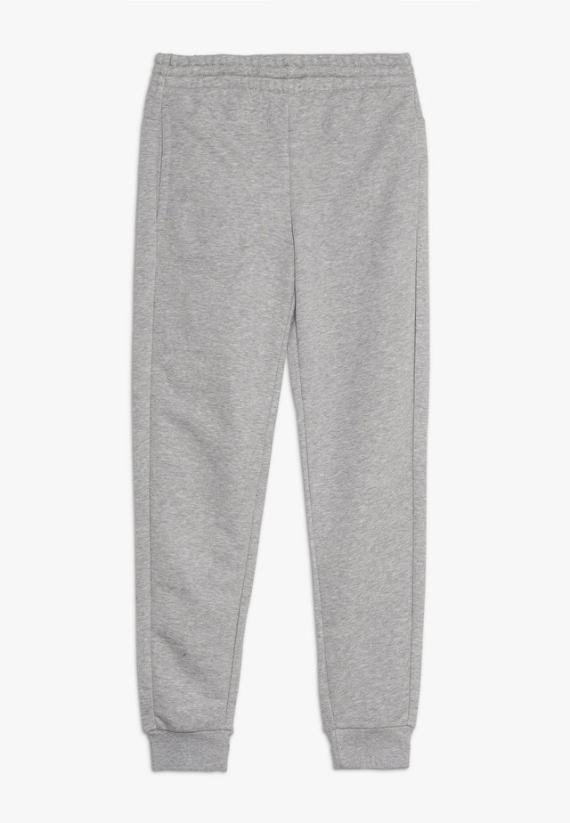 YOUNG GIRLS ESSENTIALS LINEAR SPORT PANTS - Pantaloni sportivi - medium grey heather/real pink