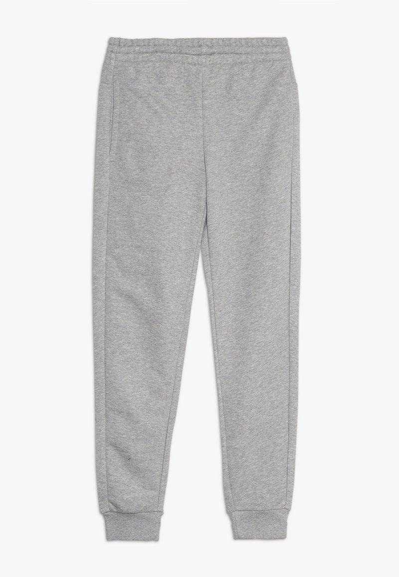 adidas Performance - LIN PANT - Jogginghose - medium grey heather/real pink