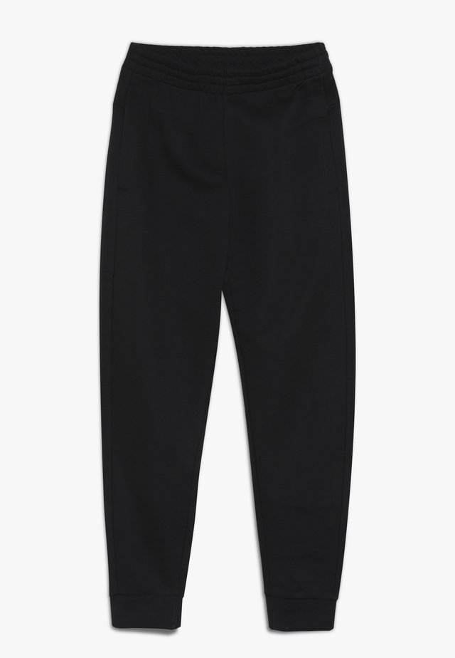 YOUNG GIRLS ESSENTIALS LINEAR SPORT PANTS - Trainingsbroek - black/white