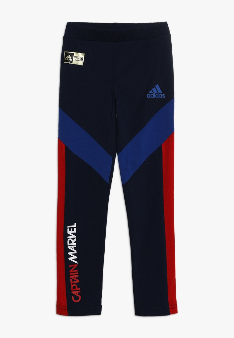 adidas Performance - ADIDAS X CAPTAIN MARVEL - Collant - conavy/croyal/scarle