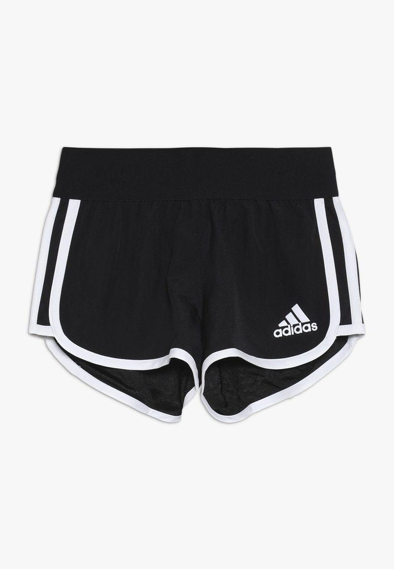 adidas Performance - kurze Sporthose - black/white