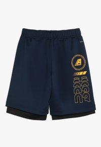 adidas Performance - Sportovní kraťasy - collegiate navy/black/gold - 1