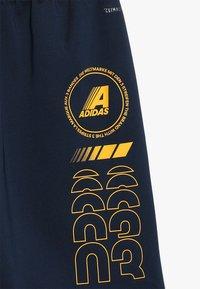 adidas Performance - Sportovní kraťasy - collegiate navy/black/gold - 4