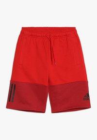 adidas Performance - SID SHORT - Sportovní kraťasy - scarlet/maroon/black - 0
