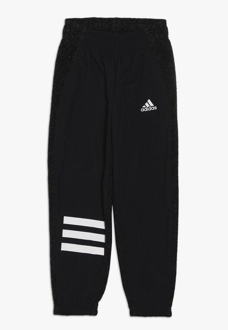 adidas Performance - ID WARM - Tracksuit bottoms - black/white
