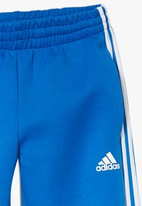 adidas Performance - 3S PANT - Tracksuit bottoms - blue/white - 4