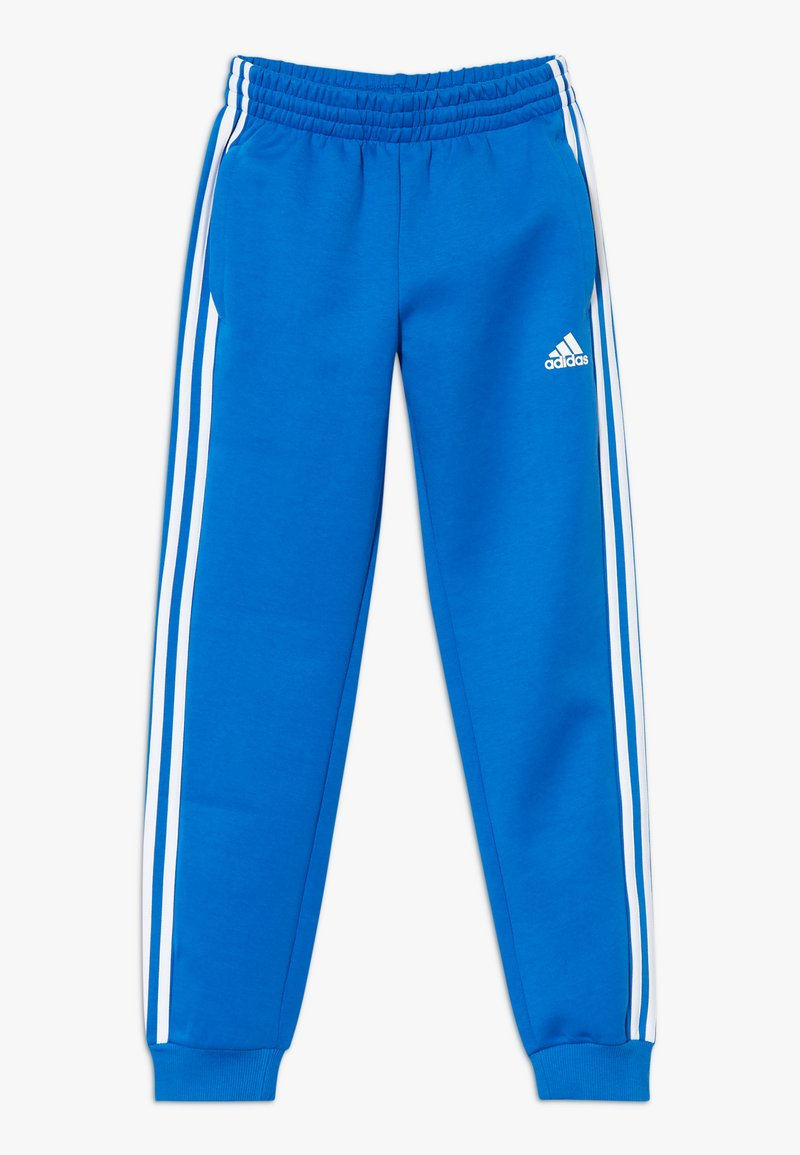 adidas Performance - 3S PANT - Tracksuit bottoms - blue/white