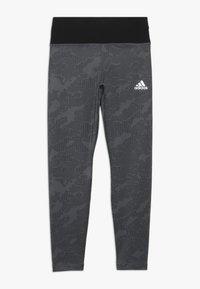 adidas Performance - WARM - Tights - grey/black - 0
