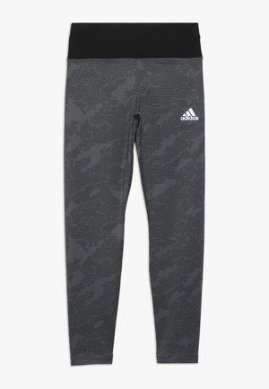 WARM - Legginsy - grey/black