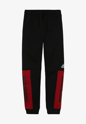 SID PANT - Trainingsbroek - black/actmar