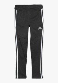 adidas Performance - TIRO 19 - Teplákové kalhoty - black melange/white - 0