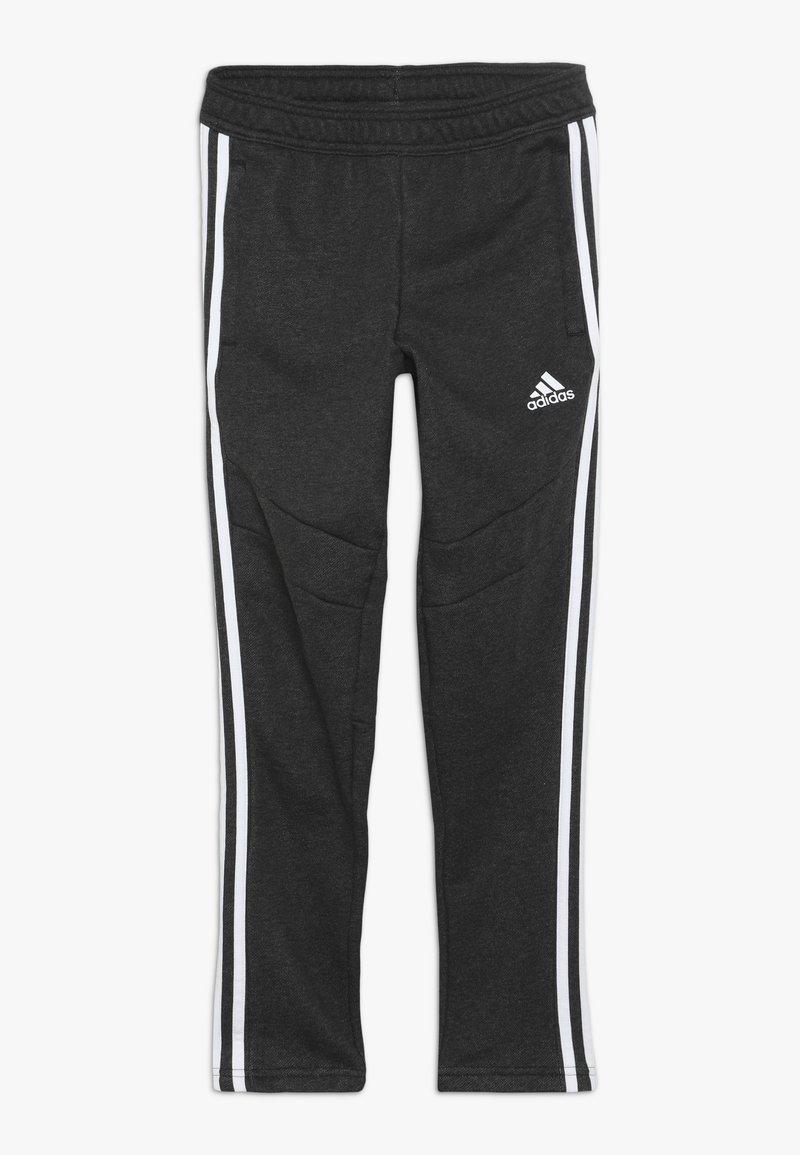 adidas Performance - TIRO 19 - Teplákové kalhoty - black melange/white