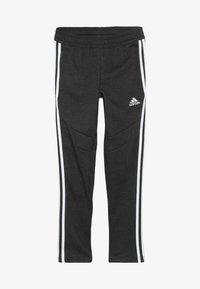 adidas Performance - TIRO 19 - Teplákové kalhoty - black melange/white - 3