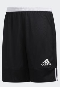 adidas Performance - 3G SPEED REVERSIBLE SHORTS - Urheilushortsit - black/white - 4