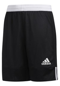 adidas Performance - 3G SPEED REVERSIBLE SHORTS - Urheilushortsit - black/white - 2