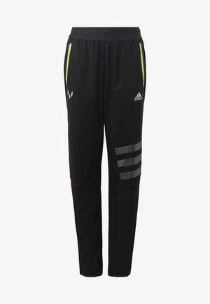 MESSI STRIKER JOGGERS - Spodnie treningowe - black/yellow