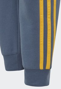 adidas Performance - ESSENTIALS 3-STRIPES JOGGERS - Träningsbyxor - blue - 2