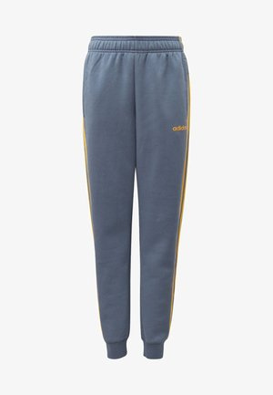 ESSENTIALS 3-STRIPES JOGGERS - Tracksuit bottoms - blue