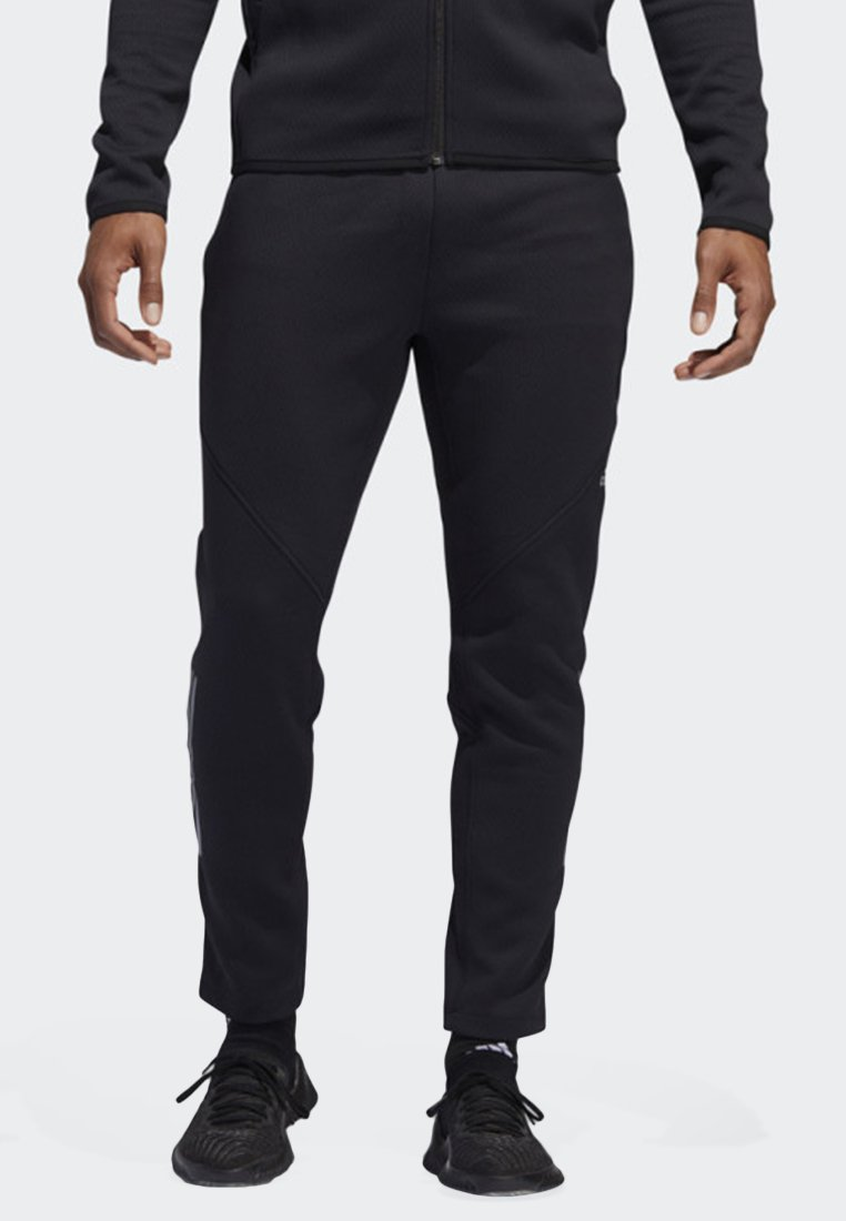 adidas Performance - CLIMAHEAT JOGGERS - Jogginghose - black