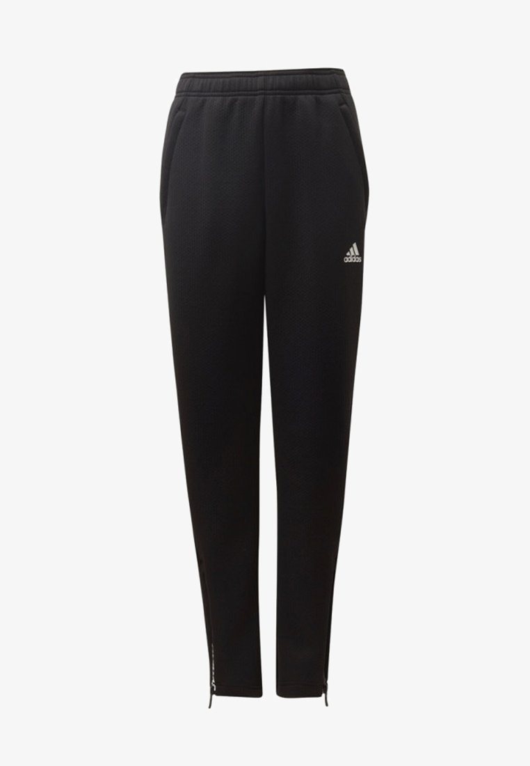 adidas Performance - CLIMAWARM TAPERED JOGGERS - Tracksuit bottoms - black