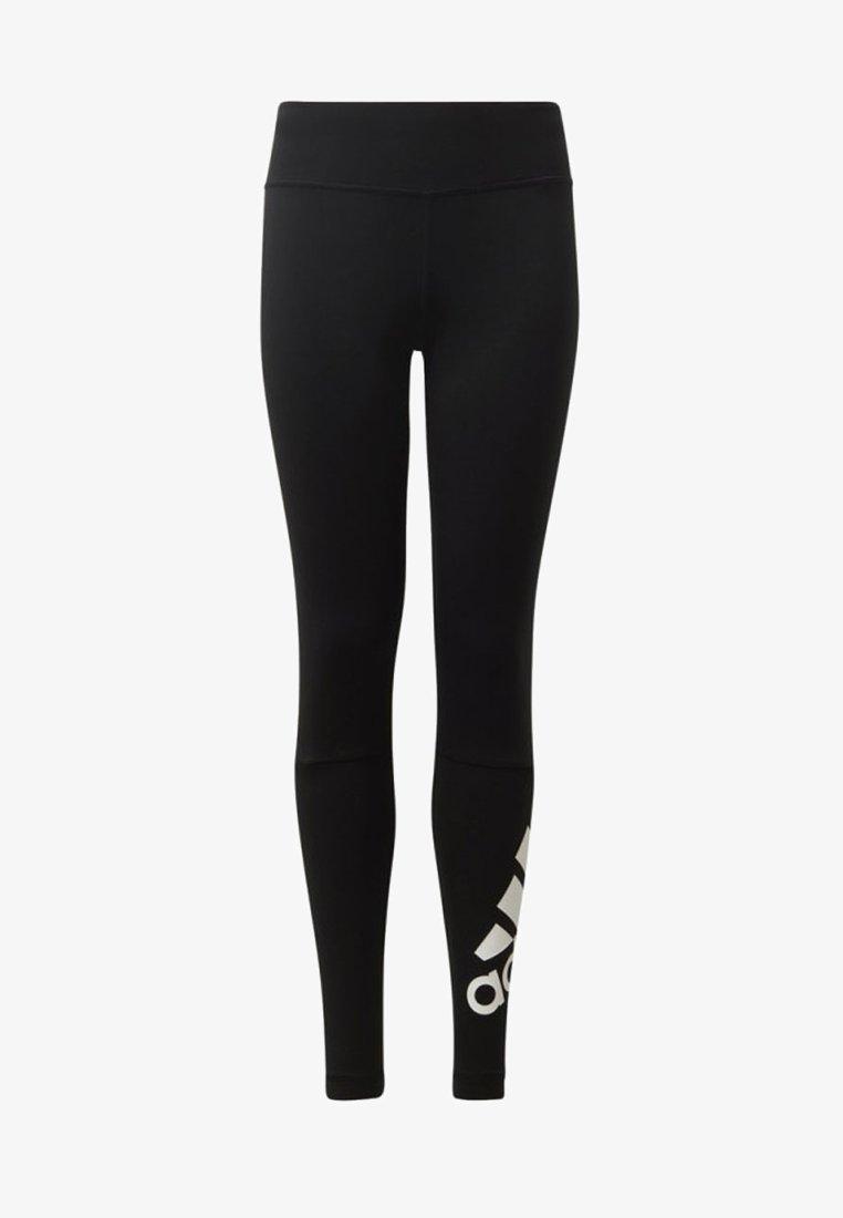adidas Performance - BELIEVE THIS BRANDED LEGGINGS - Tights - black