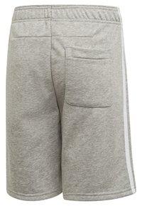 adidas Performance - MUST HAVES 3-STRIPES SHORTS - Sports shorts - grey - 6
