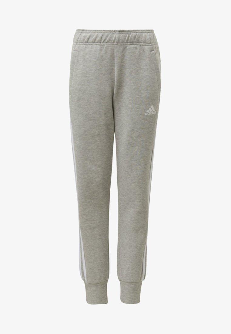 adidas Performance - MUST HAVES 3-STRIPES TRACKSUIT BOTTOMS - Pantalon de survêtement - grey