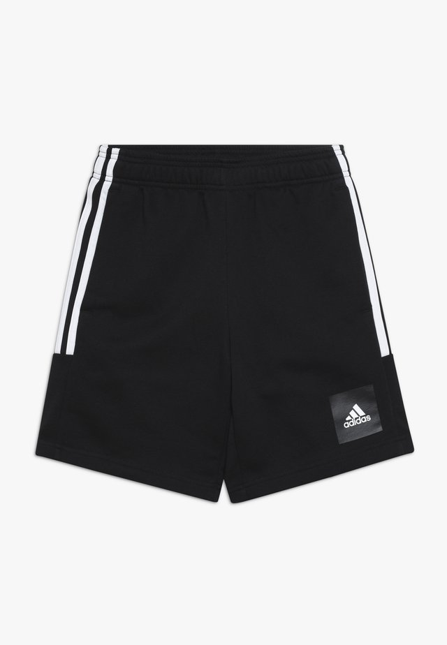 SHORT - Korte broeken - black/white