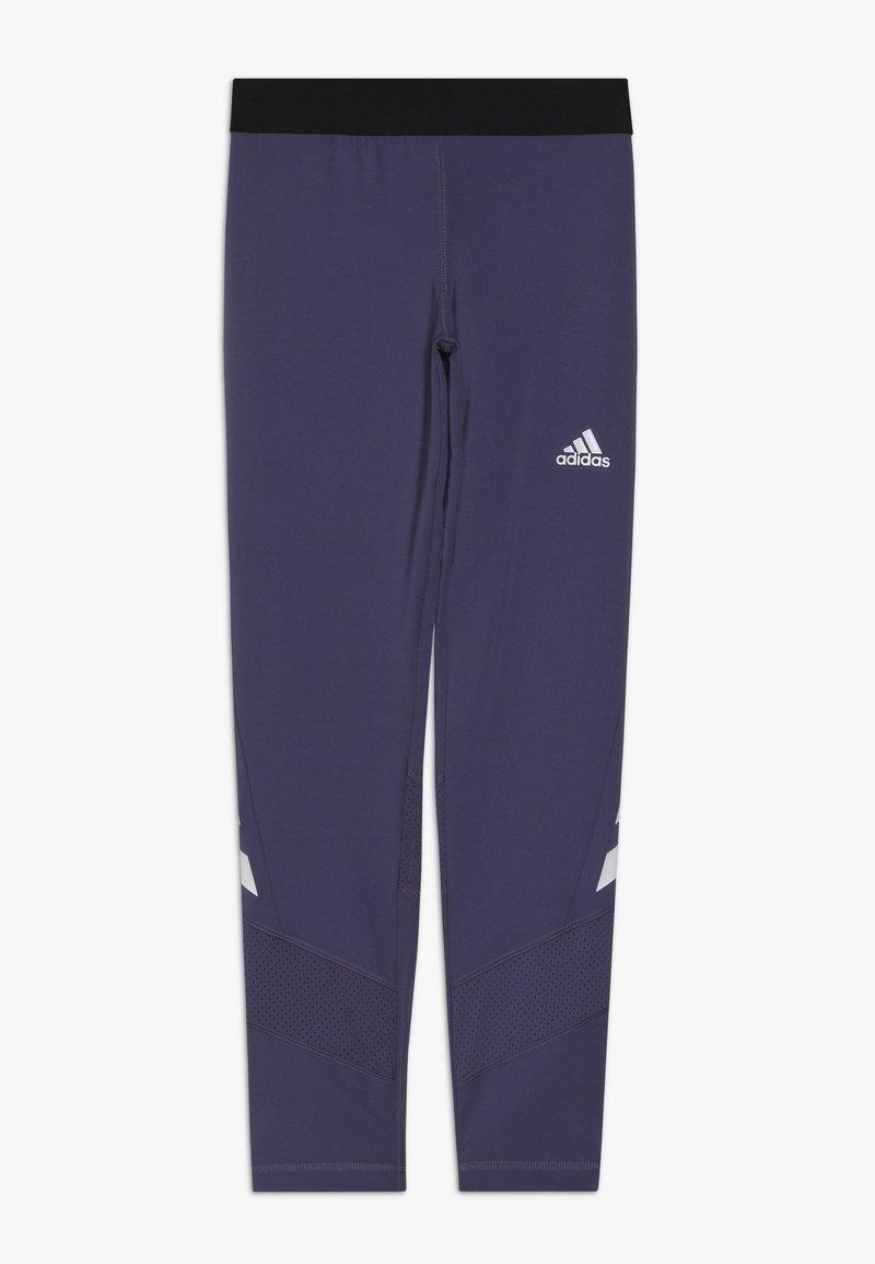 adidas Performance - THE FUTURE TODAY AEROREADY SPORT LEGGINGS - Leggings - purple/white