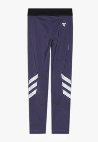 adidas Performance - THE FUTURE TODAY AEROREADY SPORT LEGGINGS - Leggings - purple/white - 1