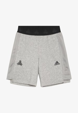 Short de sport - medium grey heather/black