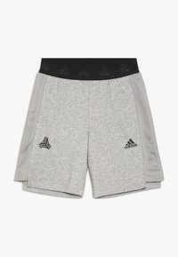 adidas Performance - Sports shorts - medium grey heather/black - 0