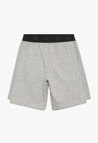 adidas Performance - Sports shorts - medium grey heather/black - 1