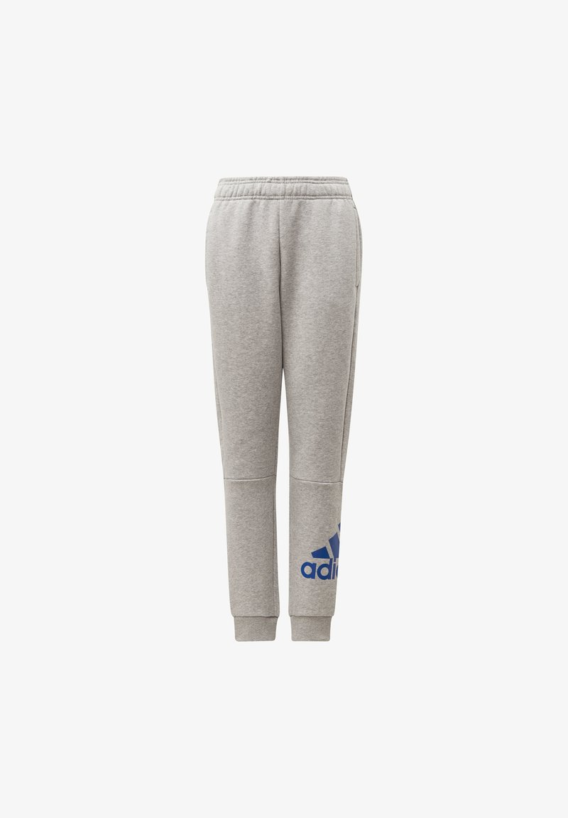 adidas Performance - MUST HAVES BADGE OF SPORT FLEECE JOGGERS - Tracksuit bottoms - grey