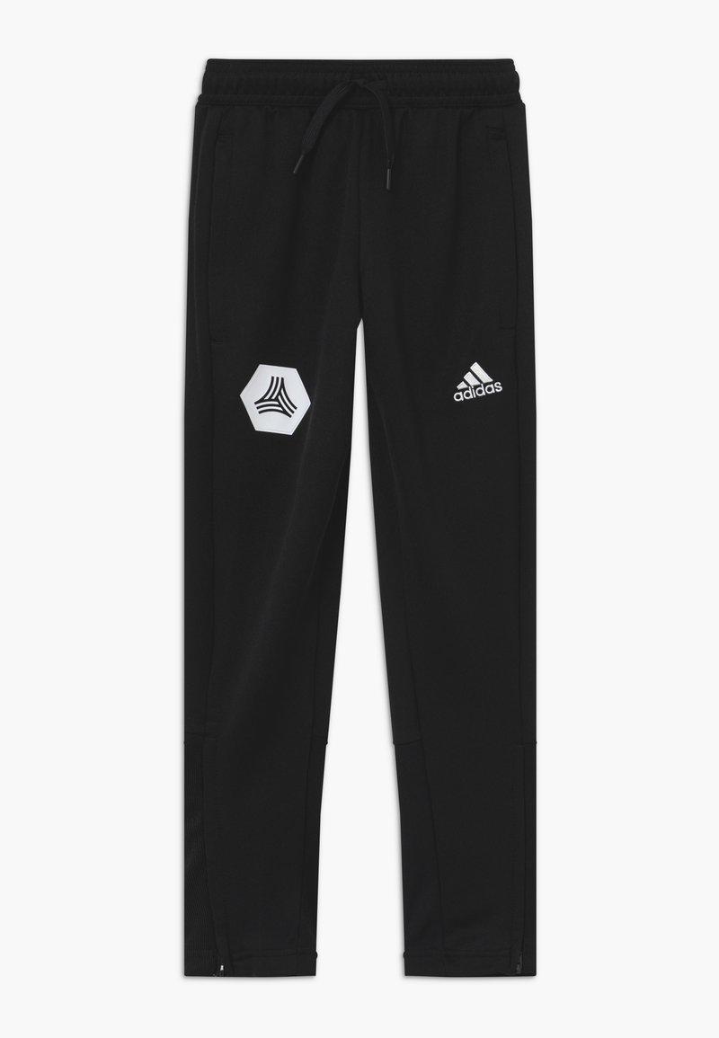 adidas Performance - TAN PANT - Teplákové kalhoty - black
